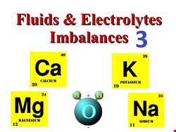 آب و الکترولیت | دانلود پاورپوینت پرستاری در مورد آب و الکترولیت و اختلالات آن 3