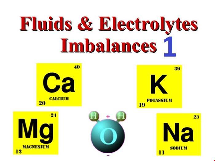 آب و الکترولیت   دانلود پاورپوینت پرستاری در مورد آب و الکترولیت و اختلالات آن 1